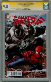 Amazing Spider-man #654.1 CGC 9.8 Signature Series Signed Stan Lee First New Venom Marvel comic book